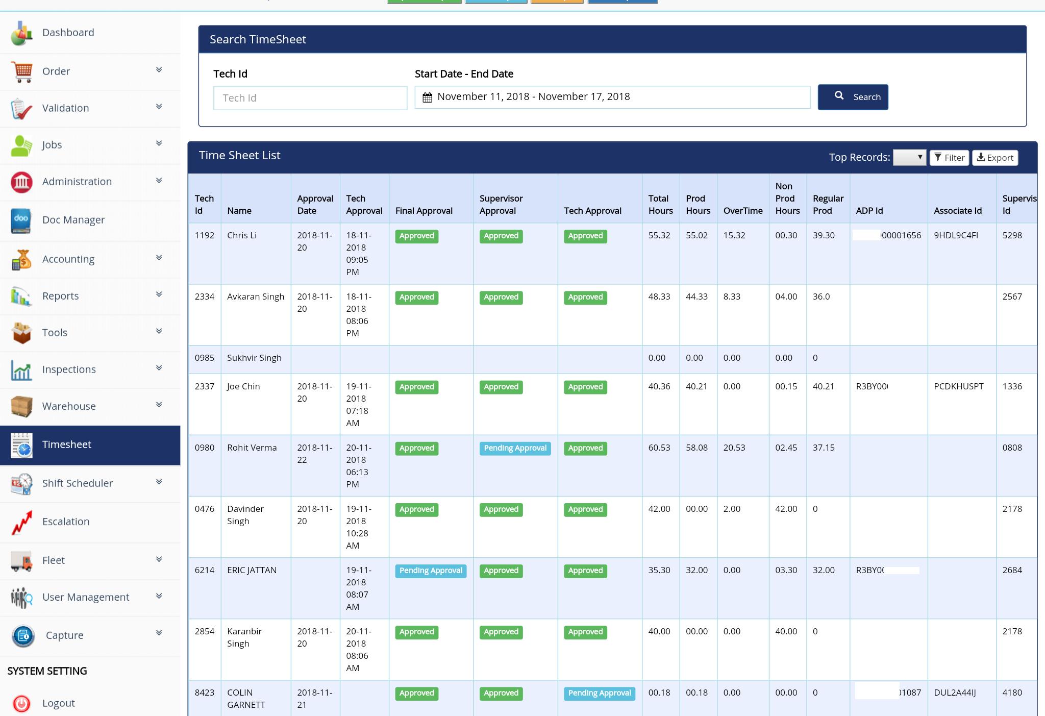timesheet shift scheduler numera soft
